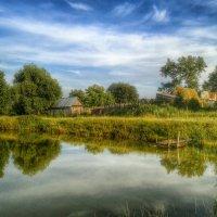 Хорошо иметь домик в деревне. :: Игорь Карпенко