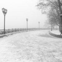 Пейзаж с лёгкой позёмкой :: Сергей Тарабара
