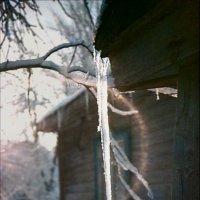 Солнечно-ледяной этюд :: Сергей Тарабара