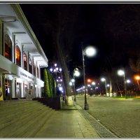 Город ночной, чуть испачкан огнями... :: Людмила Богданова (Скачко)