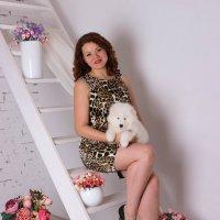 Со комочком счастья :: Оксана Фёдорова