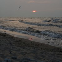 волны седого Байкала :: Алиса Колмагорова