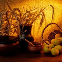 натюрморт с яблоками :: scbi