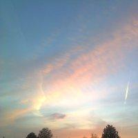 Небесный лик в лучах заката :: Виктор Мухин