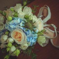 Оригинальный свадебный букет :: Анастасия Улайси