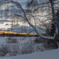Зимний пейзаж. :: Виктор Евстратов