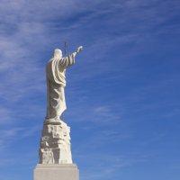 Скульптурный образ Иисуса Христа :: Герасим Харин
