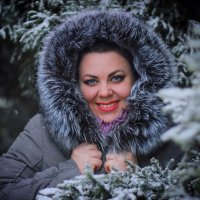 Когда шел снег... :: TATYANA PODYMA