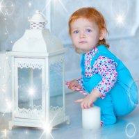 девочка и фонарик :: Мария Корнилова