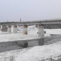 река Луга..декабрь :: Михаил Жуковский
