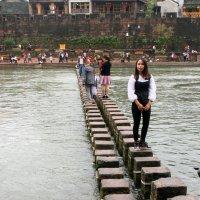 Тот самый оригинальный мост в Фэнхуане. :: Николай Карандашев