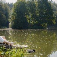 На берегу озера :: Роман Репин