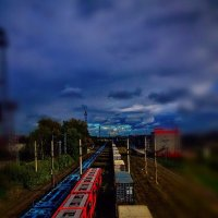 поезда :: Алексей Пивоваров