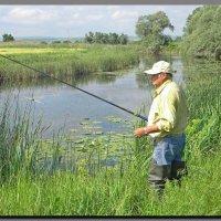 на  рыбалке. :: Ivana