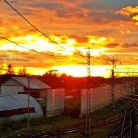 Закат редкой красоты :: Фотогруппа Весна.