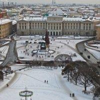 вид на Исаакиевскую площадь :: Елена