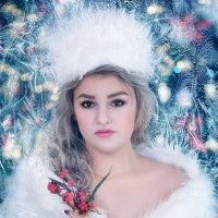 Кареглазая зима :: Марина Кузьмина