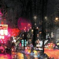 Декабрьская карамель. Вечерний марафон. :: Ирина Сивовол