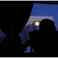силуэты и большая Луна :: павел бритшев