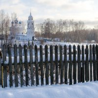 Взгляд на церковь :: Андрей Зайцев