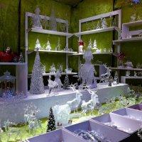 Вечерний Гамбург перед Рождеством (серия). Декорации из стекла :: Nina Yudicheva