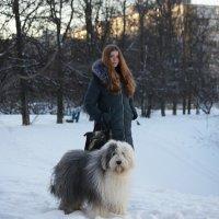 Катя и Манечка :: Лариса Батурова