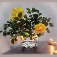 В бутоне розы – бесконечность, и нежных лепестков харизма.. :: Людмила Богданова (Скачко)