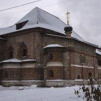 Дворец Крутицких митрополитов 17 век. :: Яков Реймер