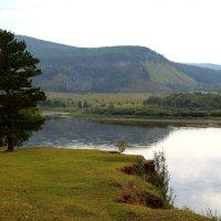 Вид на реку Шилка в окрестностях села Верхние Куларки - моей Малой Родины. :: Александр Киргизов