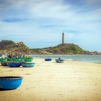 Южно - Китайское море. Вьетнам. Маяк Ке Га. :: Андрей Ярославцев
