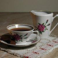 Приходите ко мне в гости, я вас чаем угощу! :: Елена Пономарева