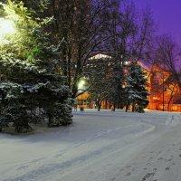 Зима в городе. :: владимир