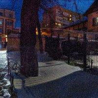 Ветер, вечер. Снег и город. :: Ирина Данилова