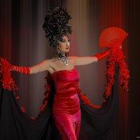 Девушка в красном-show Alon Seleznev :: Shmual Hava Retro