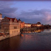Прага. Вид с Карлова моста. :: Надежда