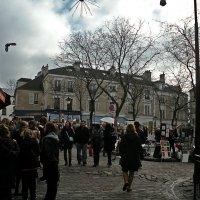 Прогулки по  Парижу. Монмартр. :: Виталий Селиванов