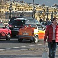 Прогулки по  Парижу. Гостья  из Китая. :: Виталий Селиванов