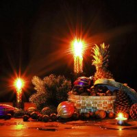 Новогодняя радость. :: Лара Гамильтон