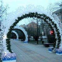 Новогодние арки (днем) :: Надежда