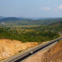 Автодорога Амур. Вид с перевала Ю.Тена. :: Александр Киргизов
