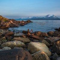 Полярная ночь на Лофотенах(Норвегия) :: Андрей Лукашенко