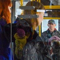 Арт в автобусе :: Галина Щербакова