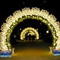 Новогодние арки (вечером) :: Надежда