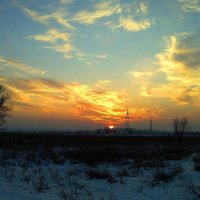 Закат в декабре :: Милла Корн