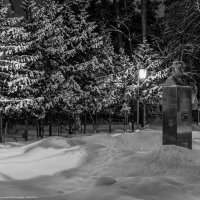 Памятник академику Флёрову Г.Н. :: Виктор Евстратов