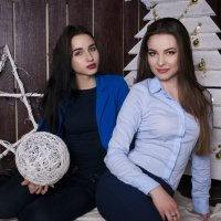 Катя и Лиза :: Екатерина Стяглий