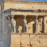 Афинский акрополь, Эрехтейон, фрагмент :: Владимир Брагилевский