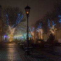туман в городе :: Валерий Чернов
