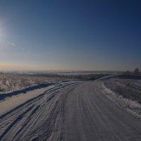 Зимняя дорога на дачу) :: Сергей Тагиров