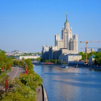 Майская Москва :: Михаил Танин